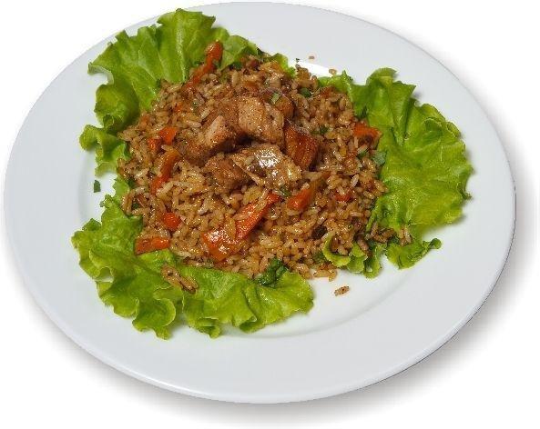Рецепт плова из свинины готовить