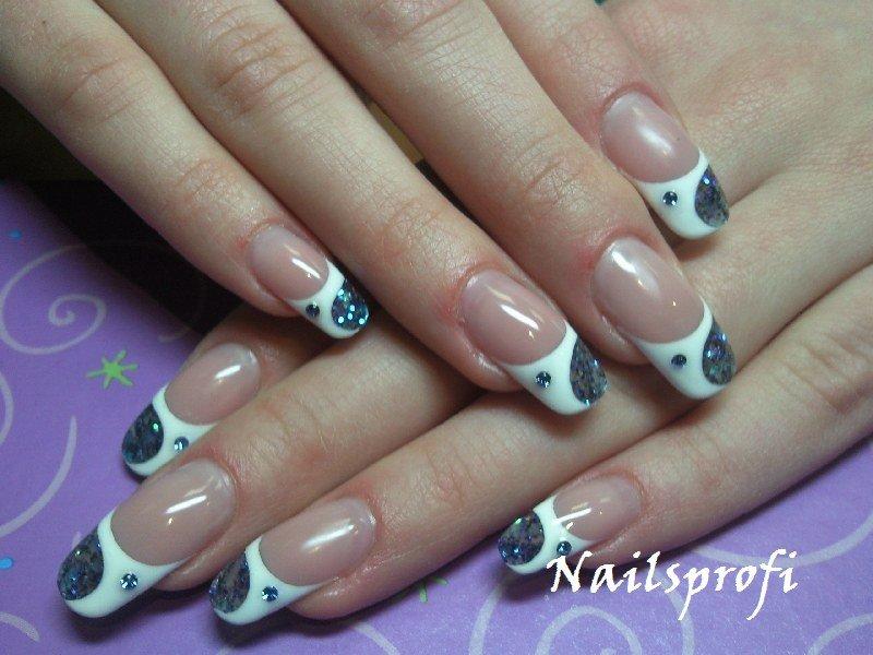 Наращивание ногтей гелем формы ногтей
