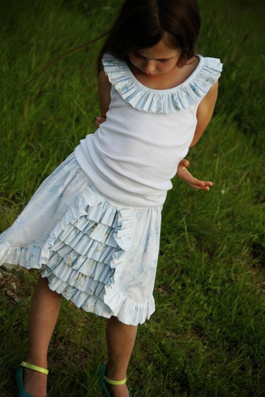 Сшить юбку для девочки 12 лет