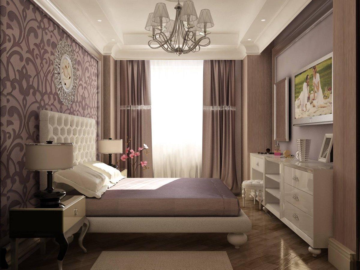 Дизайн спальни в хрущевке 2017