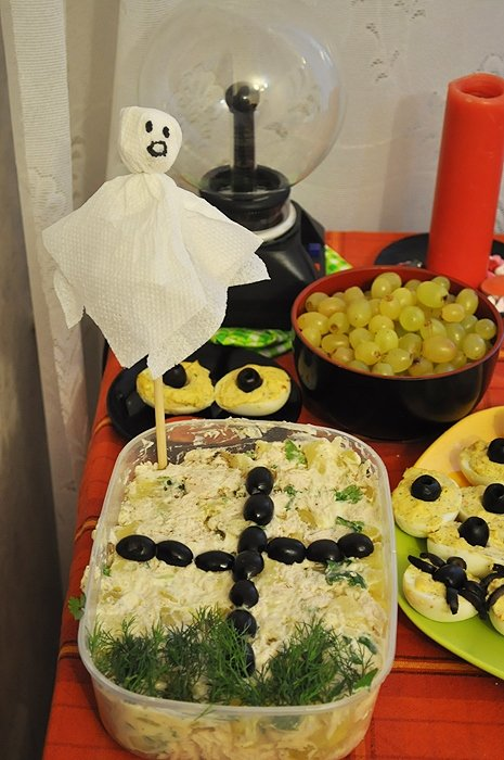 Блюдо на хэллоуин и рецептами