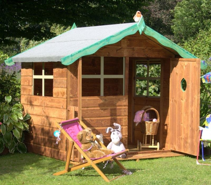 Маленький домик на даче для детей своими руками