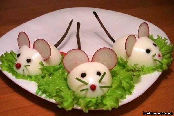 Мышки из яиц пошагово 67