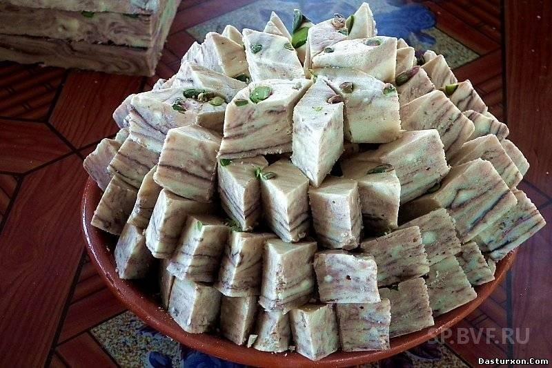 Халва турецкая рецепт с фото