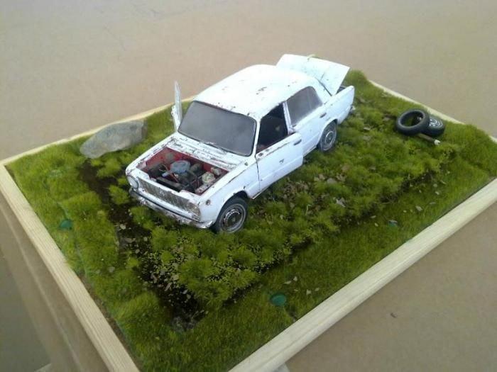 Модель своими руками авто