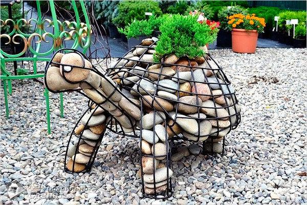 Скульптура в сад своими руками 42