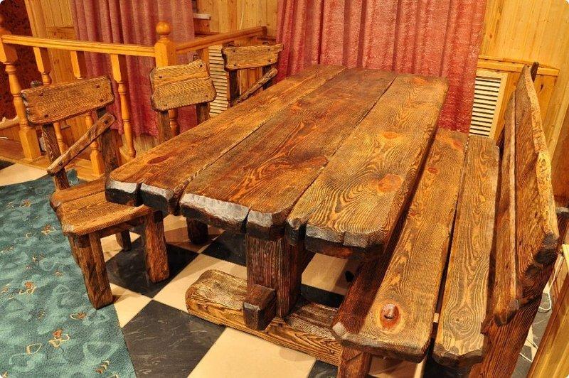 Как сделать мебели под старину своими руками