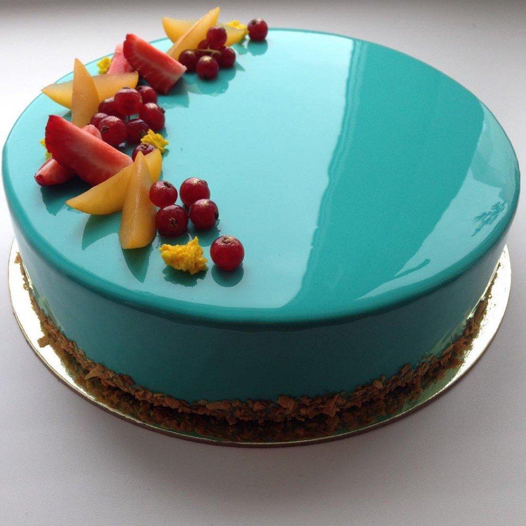 Рецепт зеркального торта