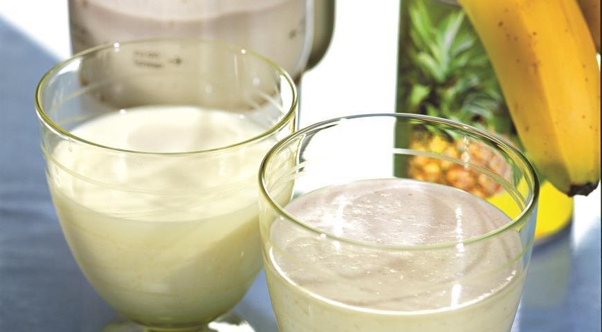 Как сделать густой молочные коктейли 520