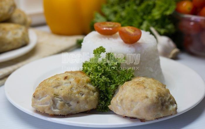 Котлеты из курицы в духовке пошаговый рецепт с