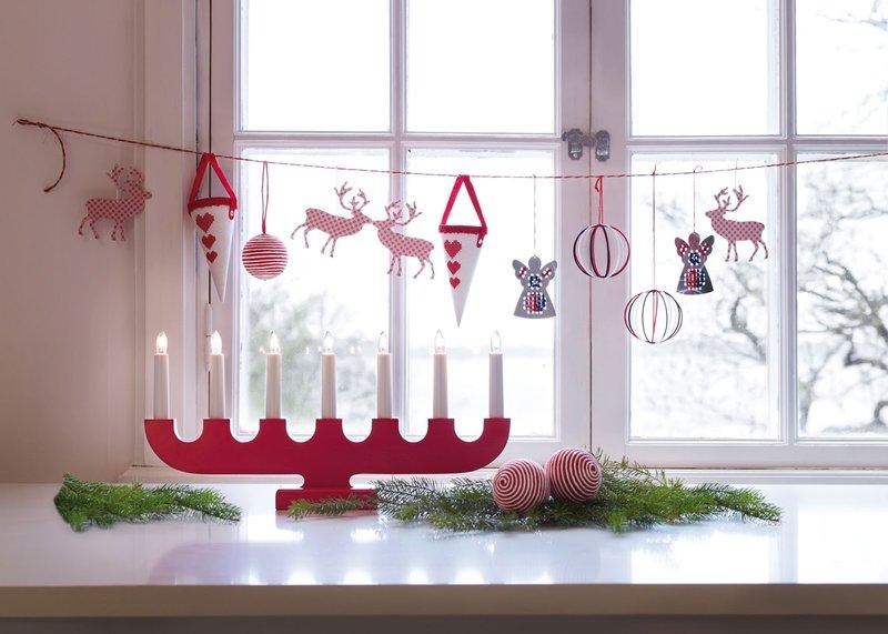 Декорация на окна своими руками