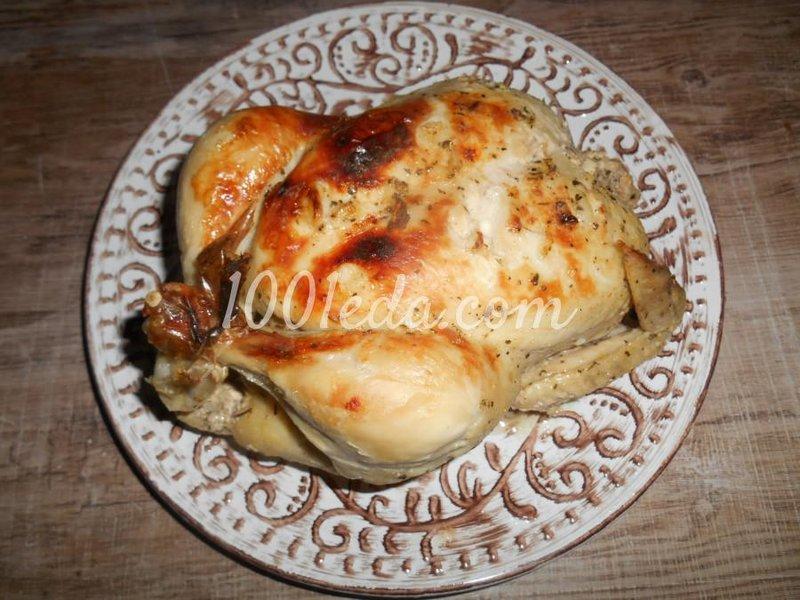 Курица в духовке целиком рецепт с пошаговый