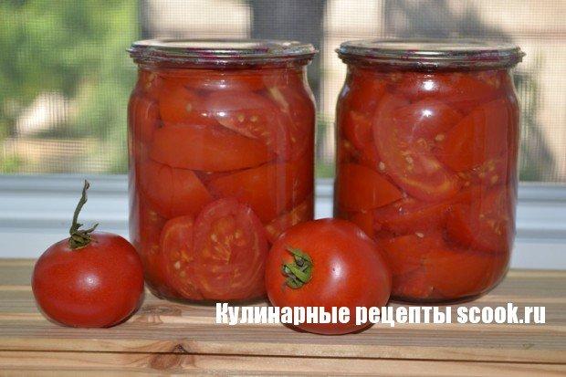 Салат на зиму из помидор на зиму рецепты с