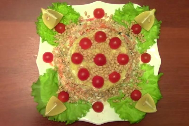 Салаты рецепты с на праздничный стол пошаговые рецепты