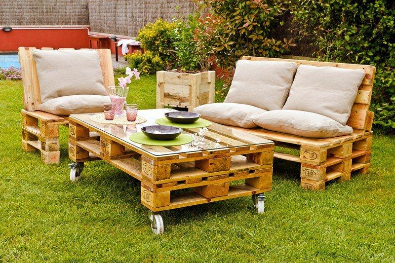 Как сделать садовою мебель своими руками