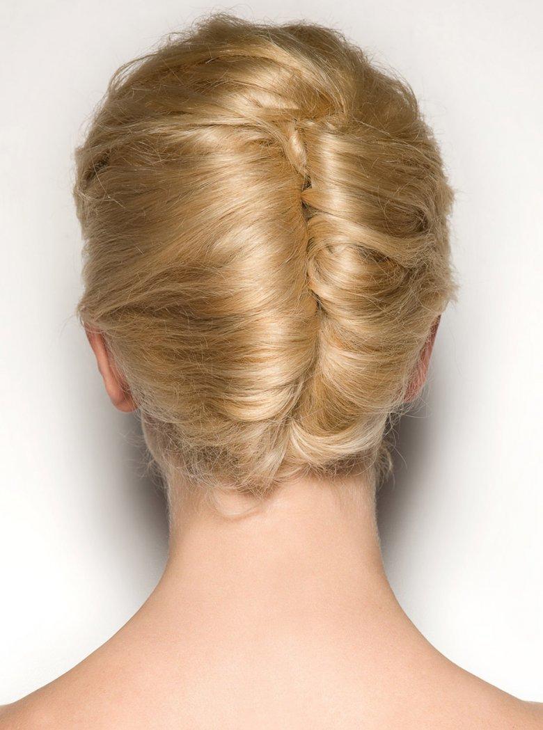 Прическа для волос ракушка фото