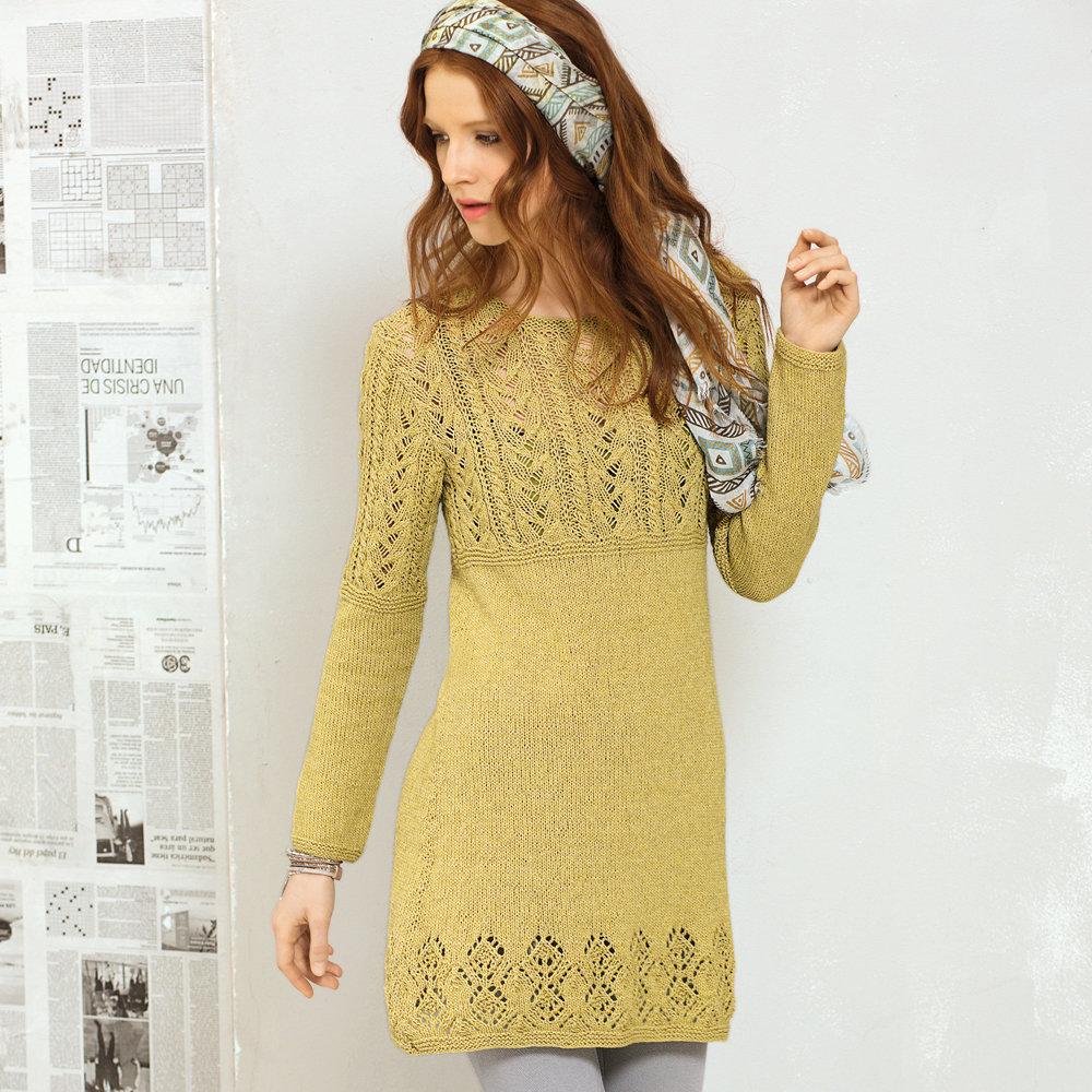 Вязание платьев на весну