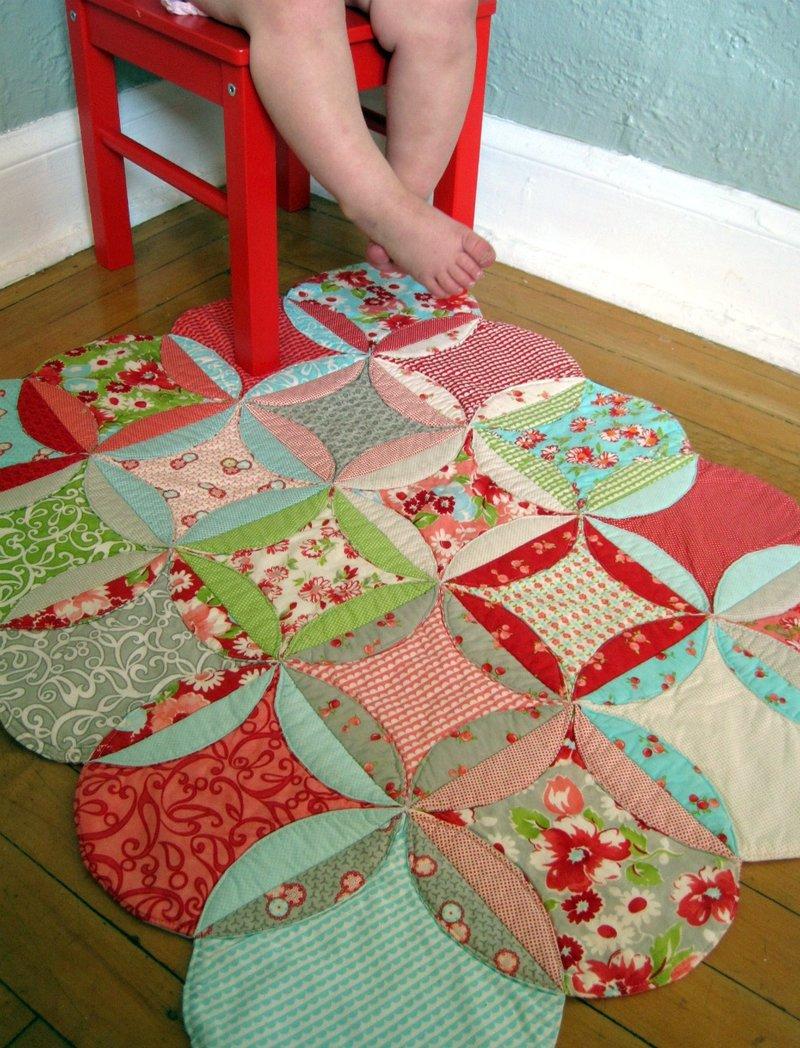 Детские коврики в стиле пэчворк