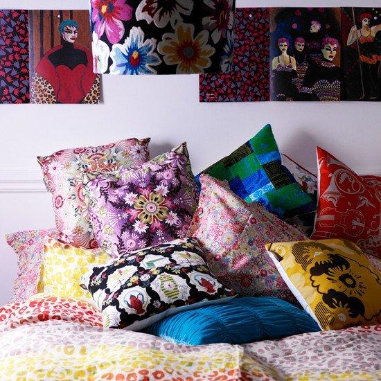 Весенние подушки своими руками: придаем изюминку декором тесьмой