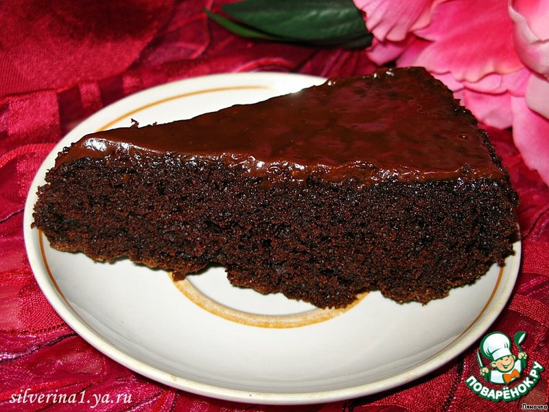 Сумасшедший пирог рецепт с фото