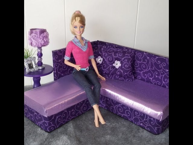Как сшить диван для кукол барби 88