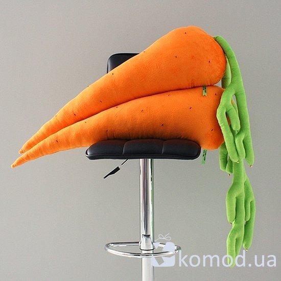 Как сшить морковку подушку