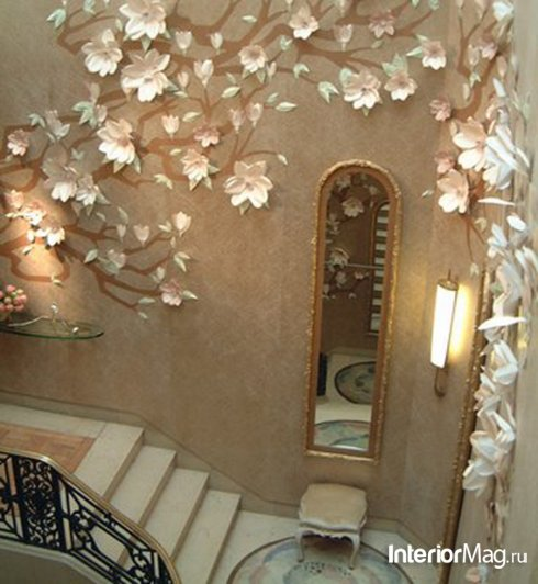 Декор на стенах в квартире своими руками