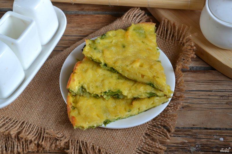 Запеканка из брокколи в духовке пошаговый рецепт с