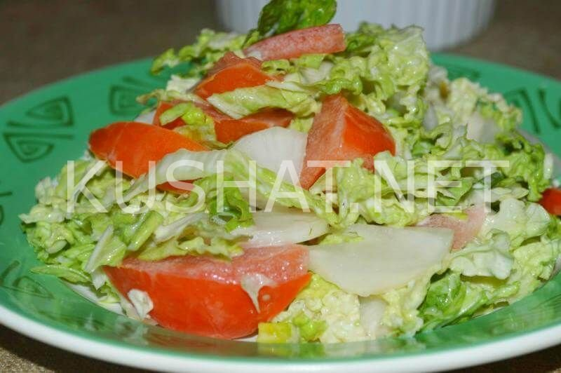 Салат из редьки пошагово рецептом