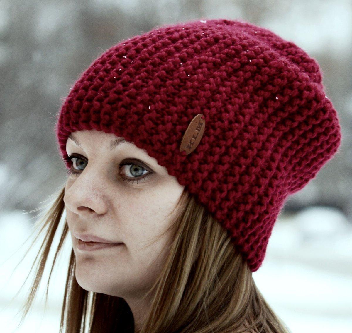 Вязание спицами женская шапка фото