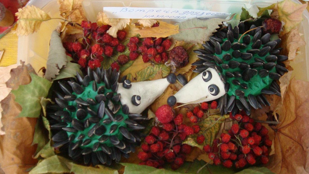 Фото поделка на тему осень