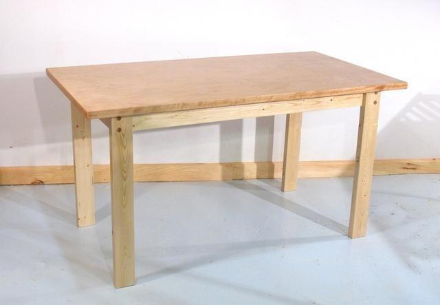 Как просто сделать кухонный стол