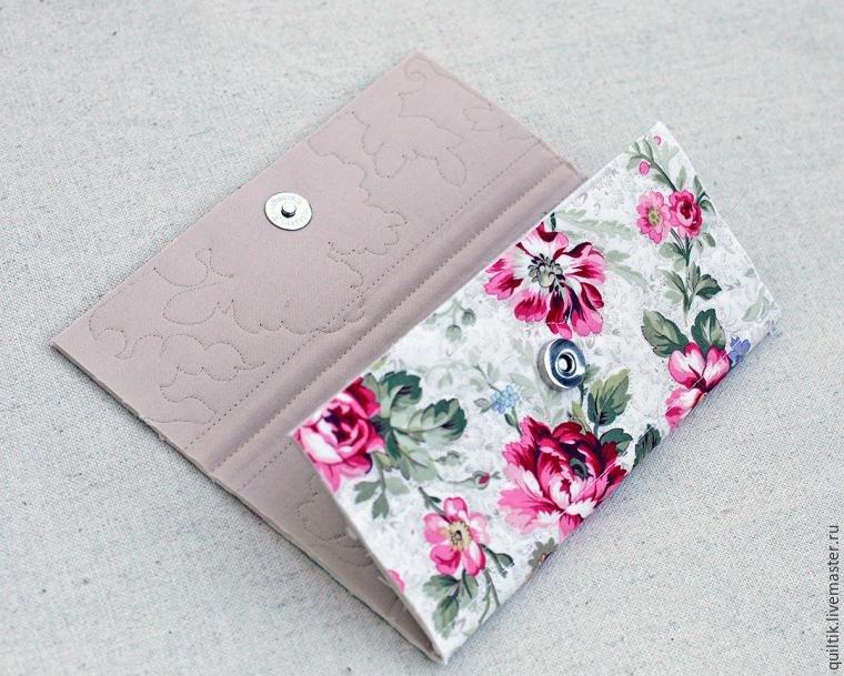 Бумажник из ткани своими руками 19