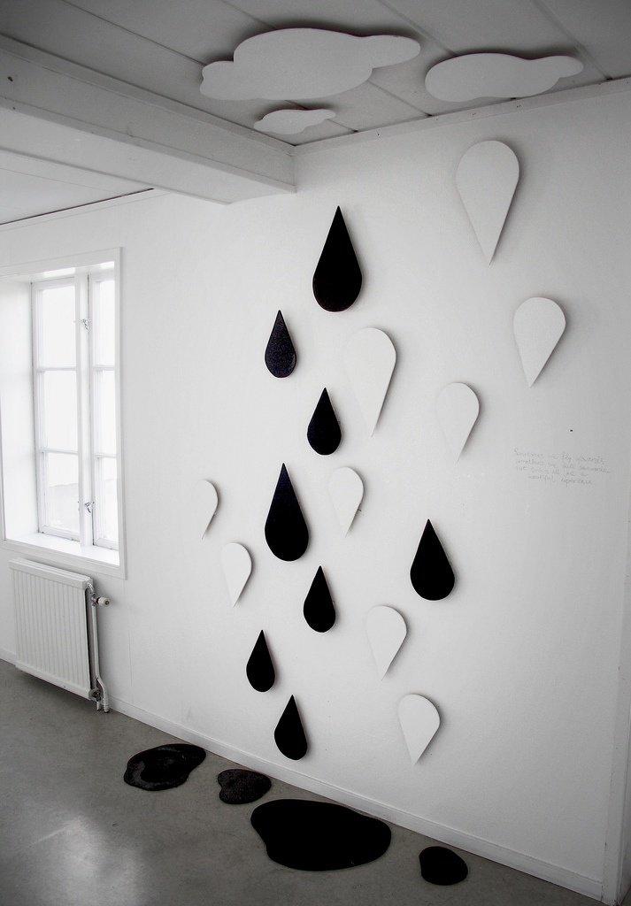Декор из гипсокартона на стенах своими руками