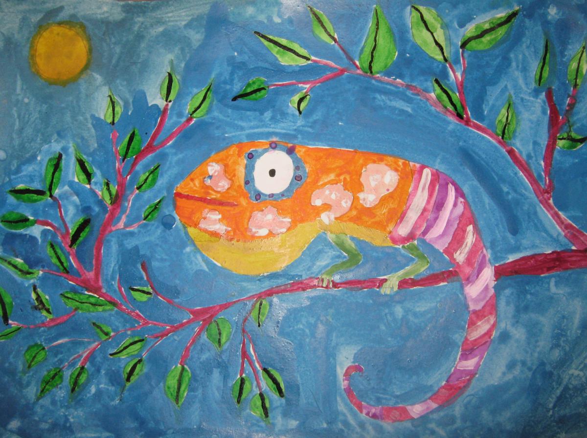Детские рисунки для конкурса красками