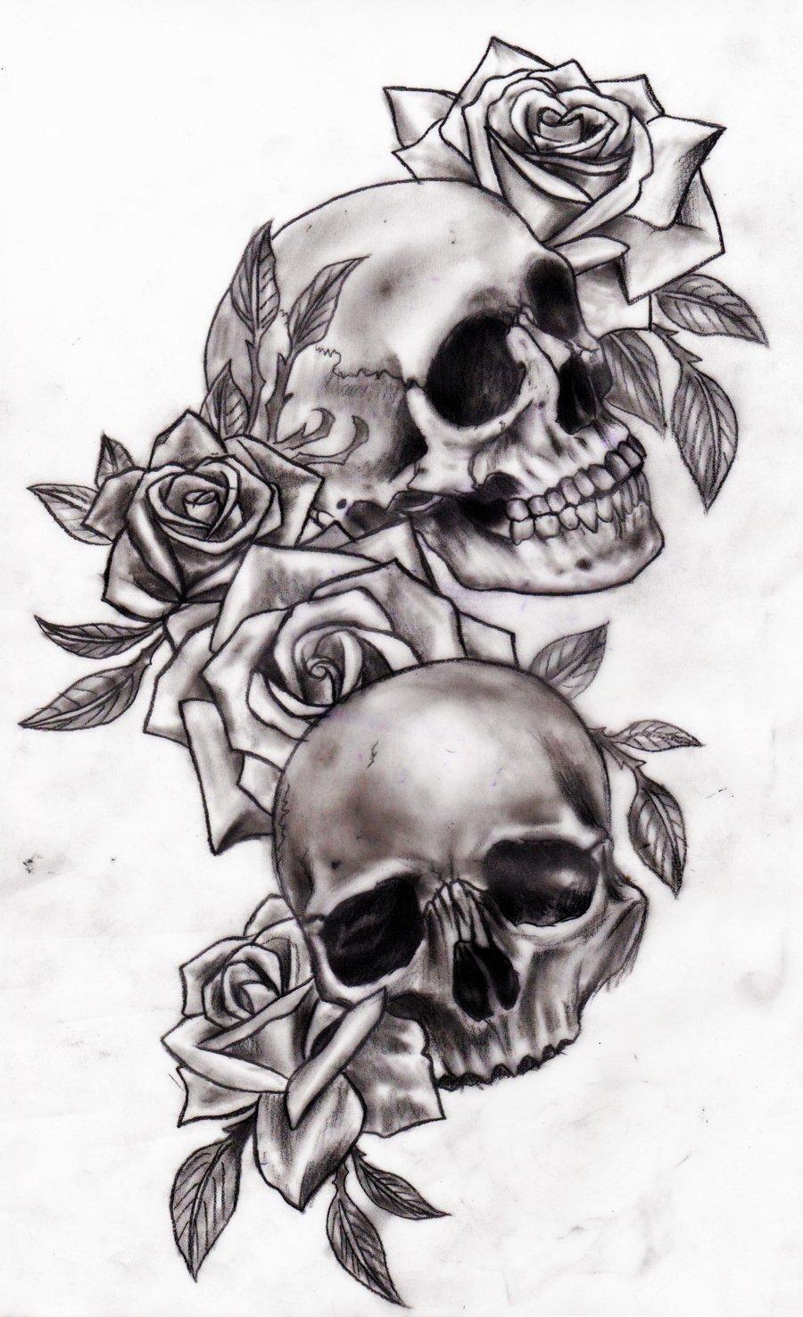 «Эскизы татуировок с розами» коллекция пользователя iczencko2016 30