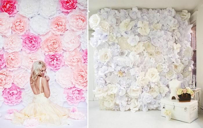 Стена из цветов своими руками для фотосессии