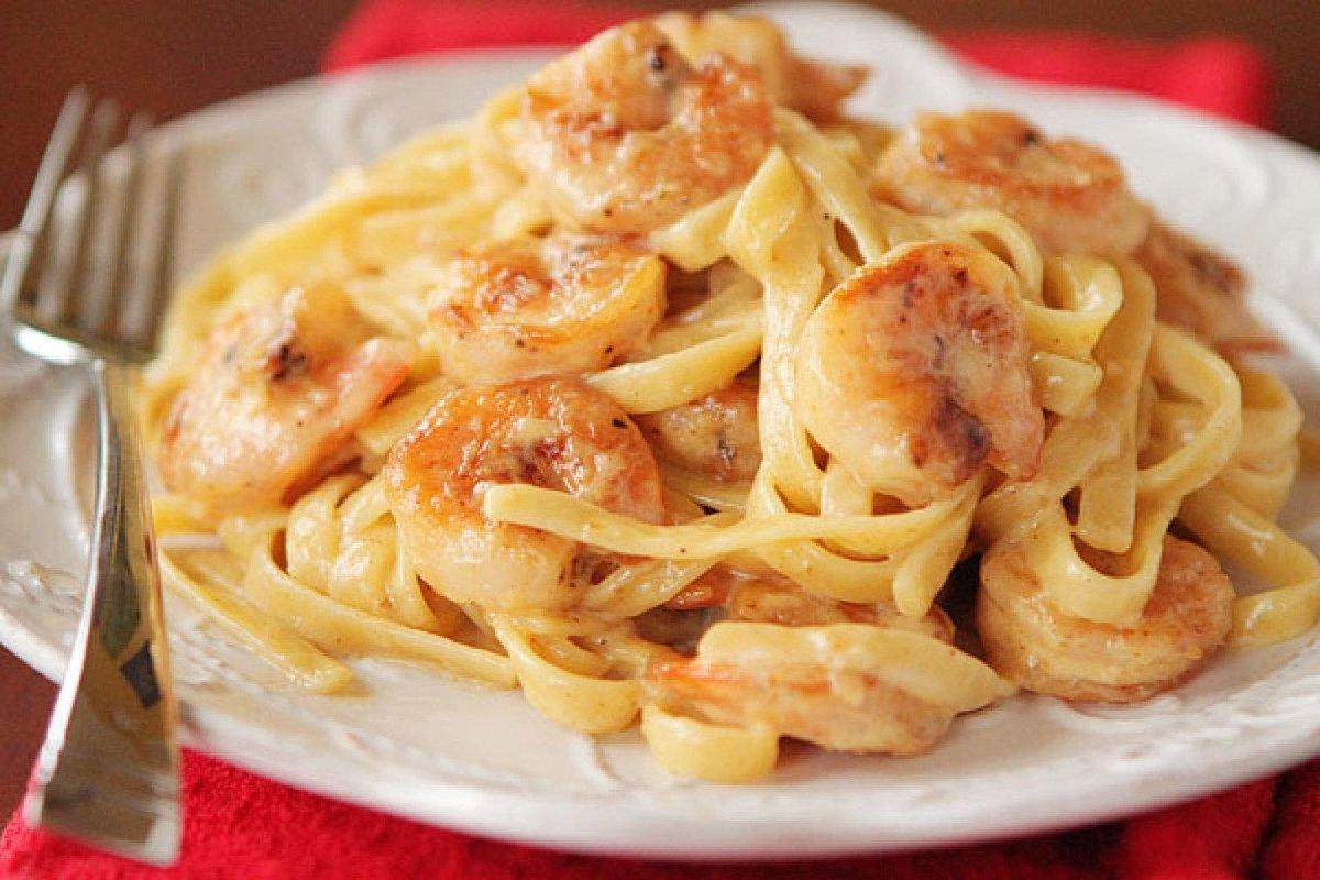 Спагетти фетучини рецепт