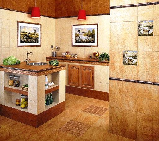 Доступный интерьер кухни своими руками 55