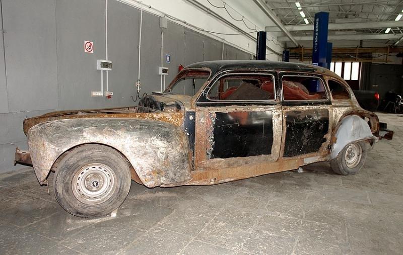 Реставрация машины своими руками 11