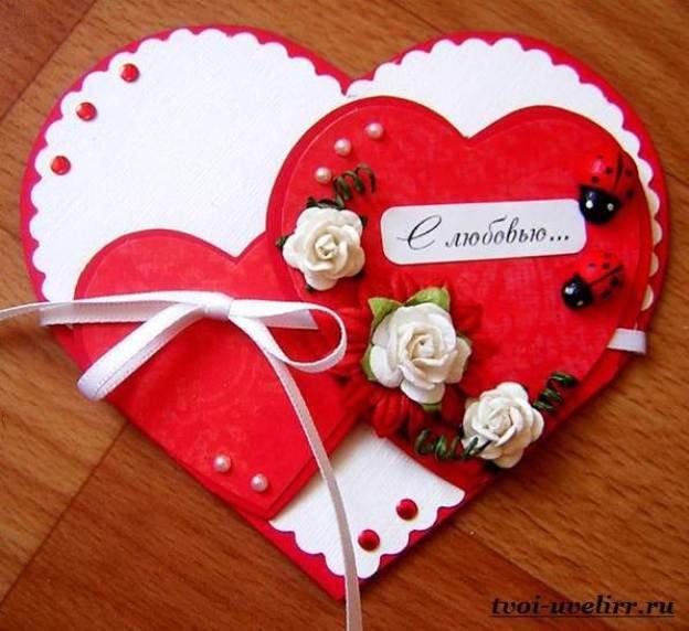 Как сделать своими руками на день святого валентина
