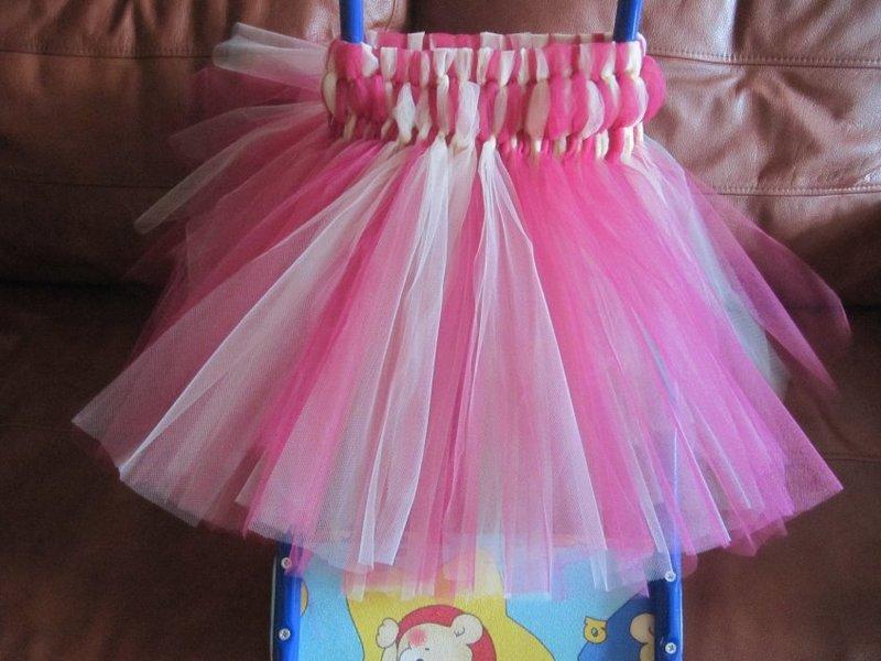 Детское платье своими руками из фатина