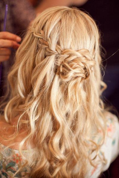 Прически на волосы до лопаток фото