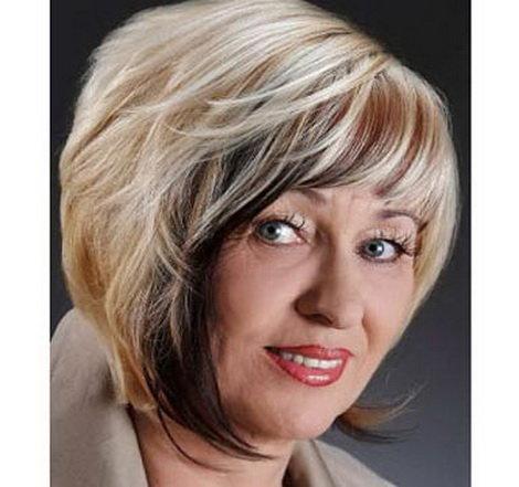 Прически из тонких волос для женщины 50 лет