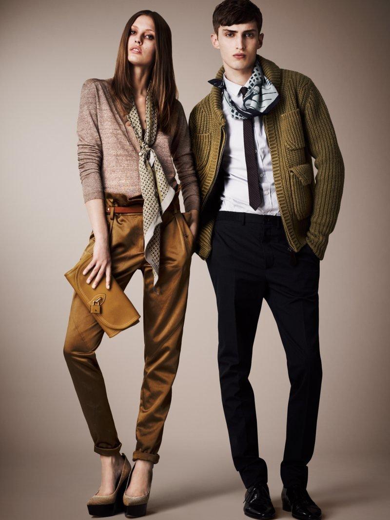 Модные парень и девушка