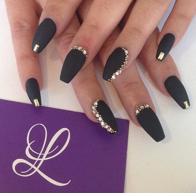 Дизайн ногтей нарощенных форма балерина