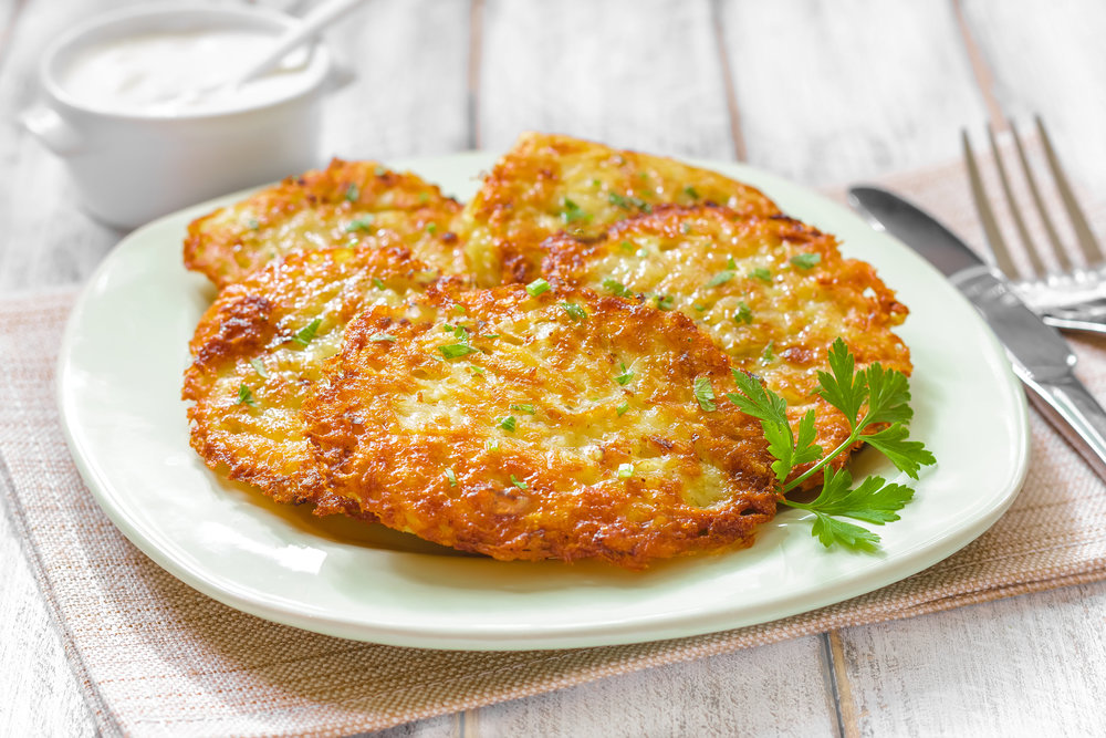162Драники с картошкой и мясом рецепт