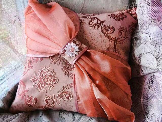 Декоративная подушка сшить своими руками