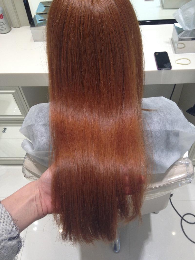 Как покрасить волосы хной 81