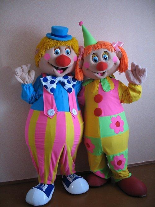 Ростовая кукла клоун своими руками из 3